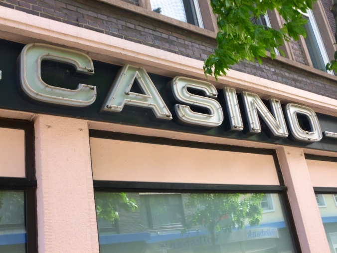 Spielcasino an der Bahnhofstraße/Ecke Weilstraße. Foto: LRF