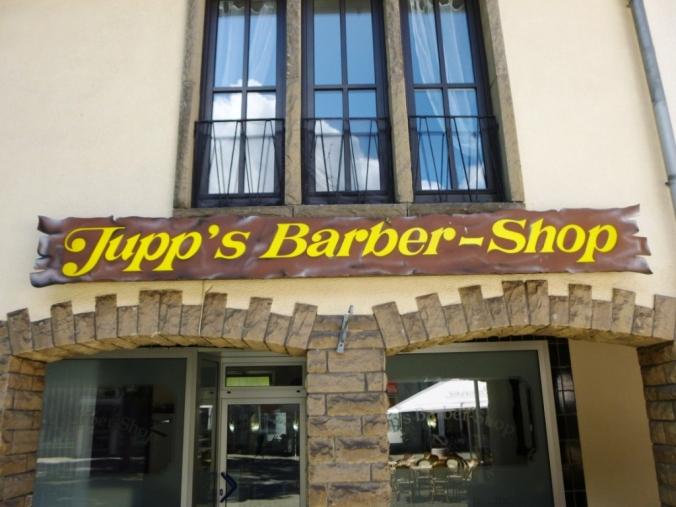 Jupp´s Barber-Shop am Krämersdorf. Foto: LRF