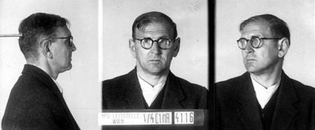 """Friedrich Karas wurde 1942 Opfer der Euthanasieaktion """"14f13"""". Foto: Wiener Stadt- und Landesarchiv"""