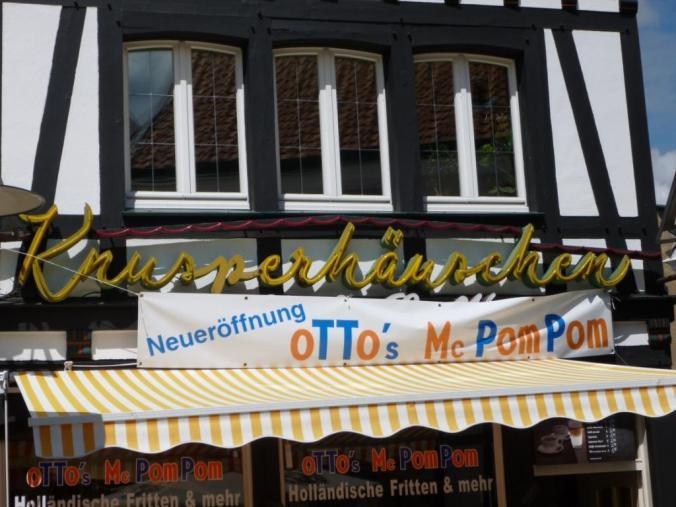 Knusperhäuschen am Obermarkt. Foto: LRF