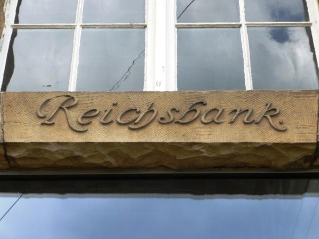 Reichsbank an der Bahnhofstraße. Foto: LRF