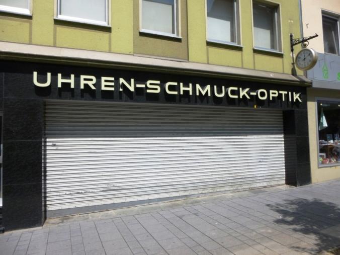 Juwelier Schmidt auf der Heggerstraße. Foto: LRF