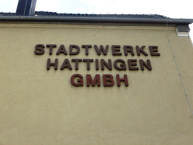 Stadtwerke Hattingen an der Gasstraße. Foto: LRF
