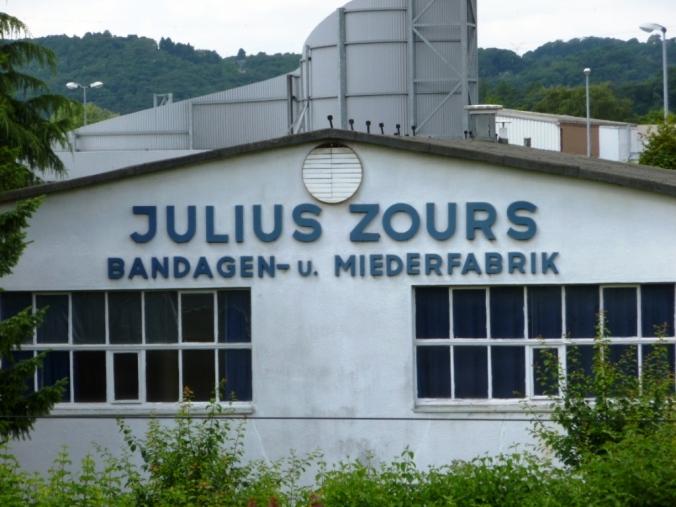 Julius Zours an der Eickener Straße. Foto: LRF
