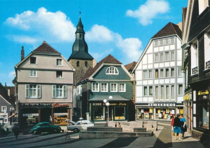 Der Name Affenfelsen geht auf einen Aprilscherz des Ruhr-Anzeigers aus dem Jahr  1970 zurück. Foto: Stadtarchiv Hattingen