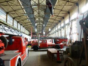 Derzeit ist ein Museumsbesuch nur im Rahmen einer Baustellenführungen für Gruppen ab 10 Personen möglich. Foto: LRF/HAT