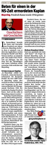 KURIER-Bericht vom 30. Juli 2014.