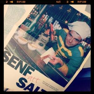 Ich - 1995 beim Zirkus. Was man im Archiv alles so findet...  Schöner Bericht mit tollen Fotos von Hardy Klahold.