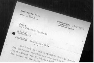 Verkauf mit Bedauern abgelehnt. Repro: Sammlung Lars Friedrich