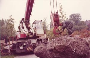 Als der Horkenstein zum Reschop kam. Foto: Stadtarchiv Hattingen