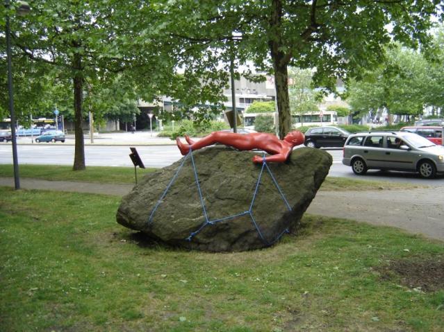 Kunst auf dem Stein. Foto: Stadtarchiv Hattingen