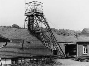 Schacht Eugen Eickmann der Gewerkschaft Aurora in Holthausen. Foto: Stadtarchiv Hattingen