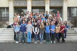 Die deutsch-ungarischen Austauschschüler 2013. Foto: JAG