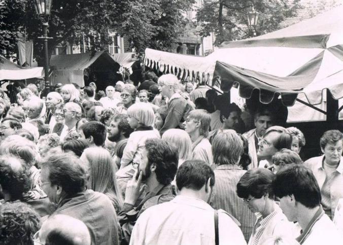 Mittelaltermarkt auf dem Kirchplatz in Hattingen. Foto: Lars Friedrich