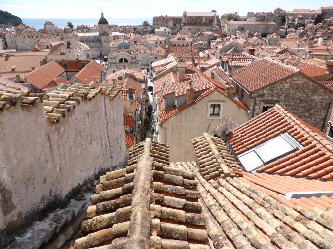 Weitblick: Über den Dächern von Dubrovnik. Foto: Lars Friedrich
