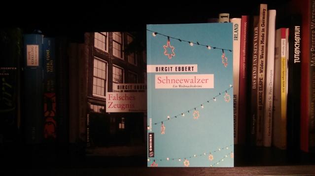 """Am 7. Oktober veröffentlichte der Gmeiner-Verlag vier neue Winterkrimis, darunter """"Schneewalzer"""" von Birgit Ebbert. Foto: Lars Friedrich"""
