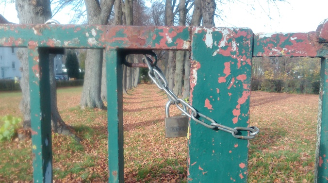 Tor des jüdischen Friedhofes in Hattingen. Foto: Lars Friedrich