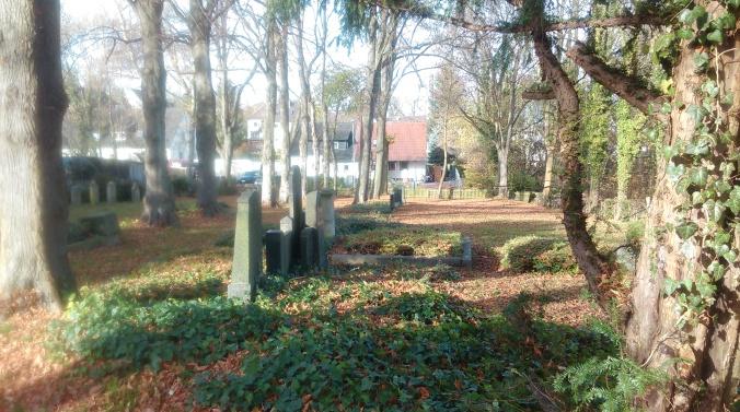 Der jüdische Friedhof an der Blankensteiner Straße. Foto: LRF