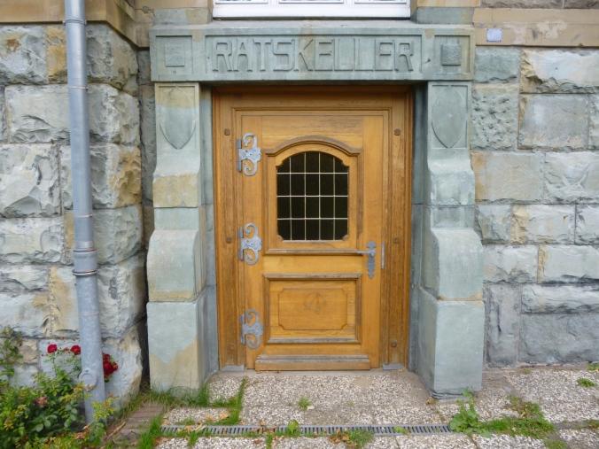 Zugang zum längst geschlossenen Hattinger Ratskeller. Foto: Lars Friedrich
