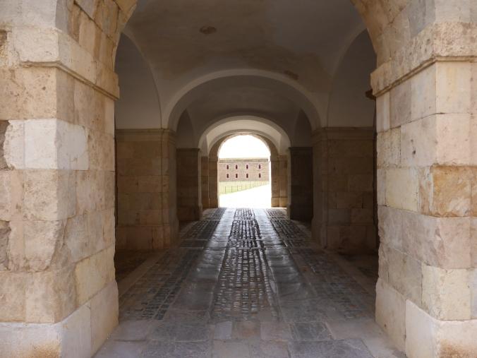 Das Castell Sant Ferran ist die größte Festung Europas. Foto: Lars Friedrich