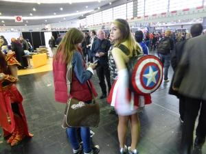 Die Comic Con Germany ist im Juni 2016 in Stuttgart und nicht mit der German Comic Con zu verwechseln. Foro: Lars Friedrich