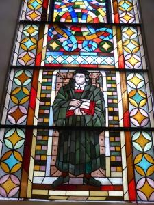 Luther im Talar. Foto: LRF/HAT