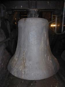 Die Luther-Rose auf der Glocke. Foto: LRF/HAT