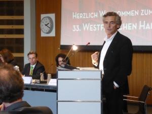 Lübecks Bürgermeister Bernd Saxe, Vormann des Städtebundes DIE HANSE. Foto: LRF