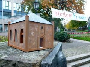 Modell der Hattinger Synagoge am heutigen Synagogenplatz. Foto: Archiv Lars Friedrich