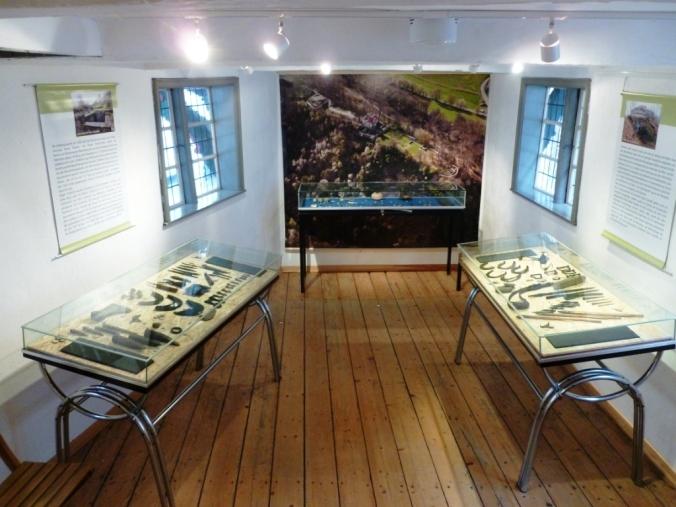 Blick in die Isenburg-Ausstellung im Museum im Bügeleisenhaus. Foto: privat