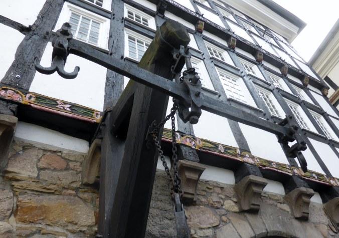 Die Stadtwaage erinnert an die Hattinger Hanse-Tradition. Foto: privat