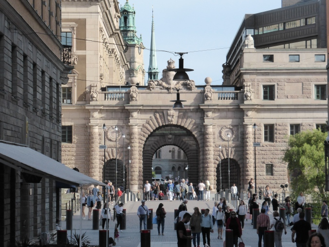 In Stockholm. Foto: Lars Friedrich