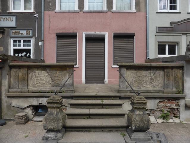Hauseingang in der Altstadt von Danzig. Foto: Lars Friedrich