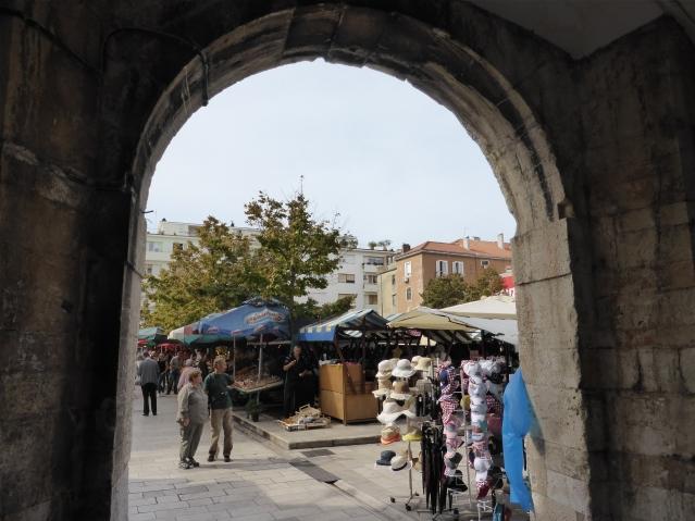 Markt in Zadar/Kroatien. Foto: Lars Friedrich