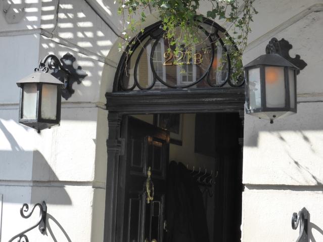 Die Baker Street 221b in London. Foto: Lars Friedrich