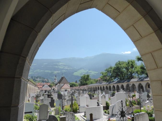 Kommunalfriedhof Brixen/Südtirol. Foto: Lars Friedrich