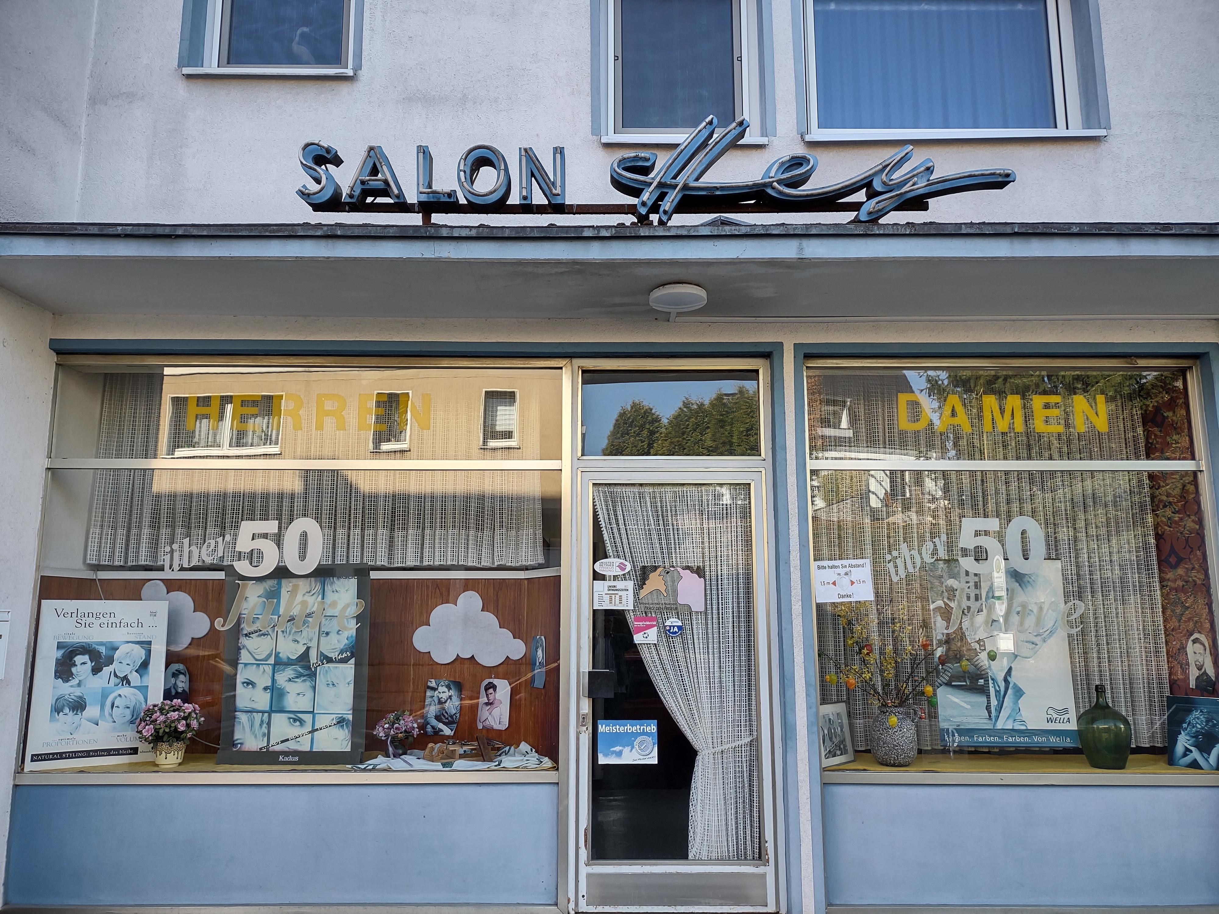 Salon Hey Friedrichstraße März 2021